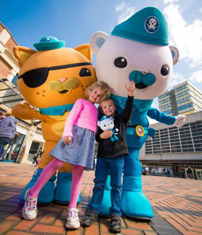Octonauts – Captain Barnacles and Kwazii