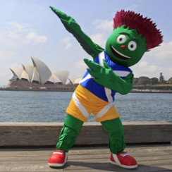Clyde Glasgow Common Wealth Games Mascot