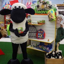 Shaun the Sheep Mascot