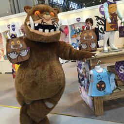 The Gruffalo mascot