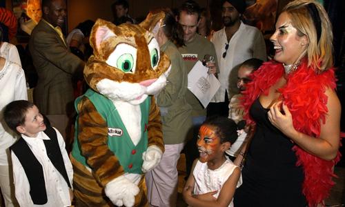 KiteKat cat brand mascot