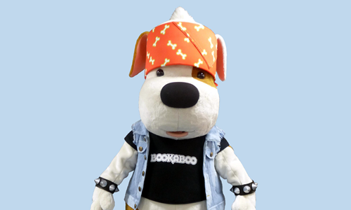 Happy Films - Bookaboo dog mascot