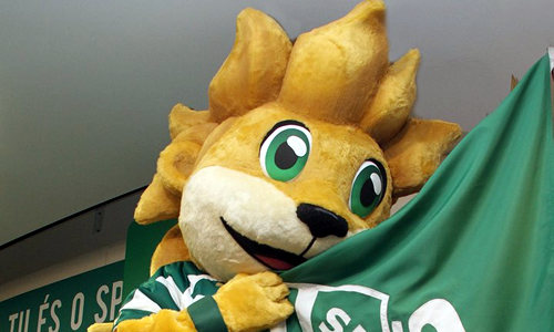Sporting Lisbon Football Mascot - Jubas