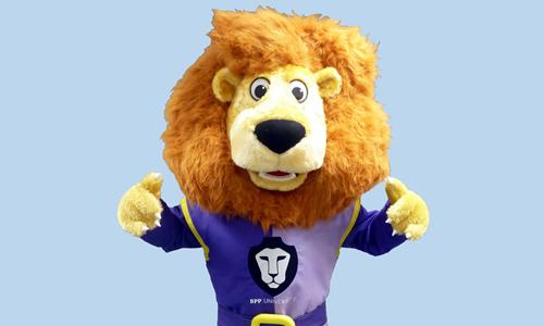 BPP Mascot University Lion