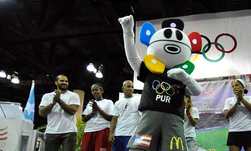 Puerto Rican Guanin Olympic Mascot