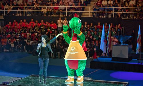 Special Olympics Catalunya 2010 mascot