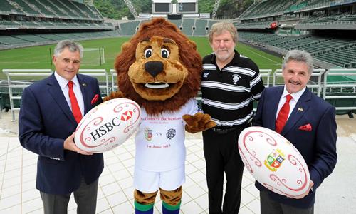 Bill - Hong Kong 7s Lions Mascot