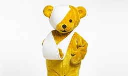 Theo Bear Mascot - The Children's Hospital Charity