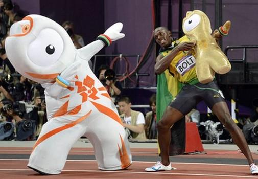 Wenlock - Usain Bolt Olympic Mascots