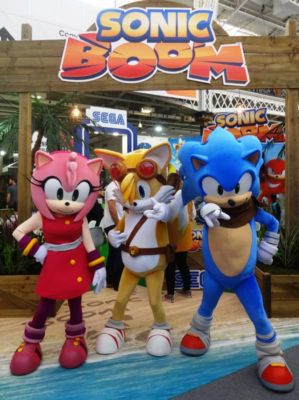 Book Sonic The Hedgehog For Events Rainbow Productions