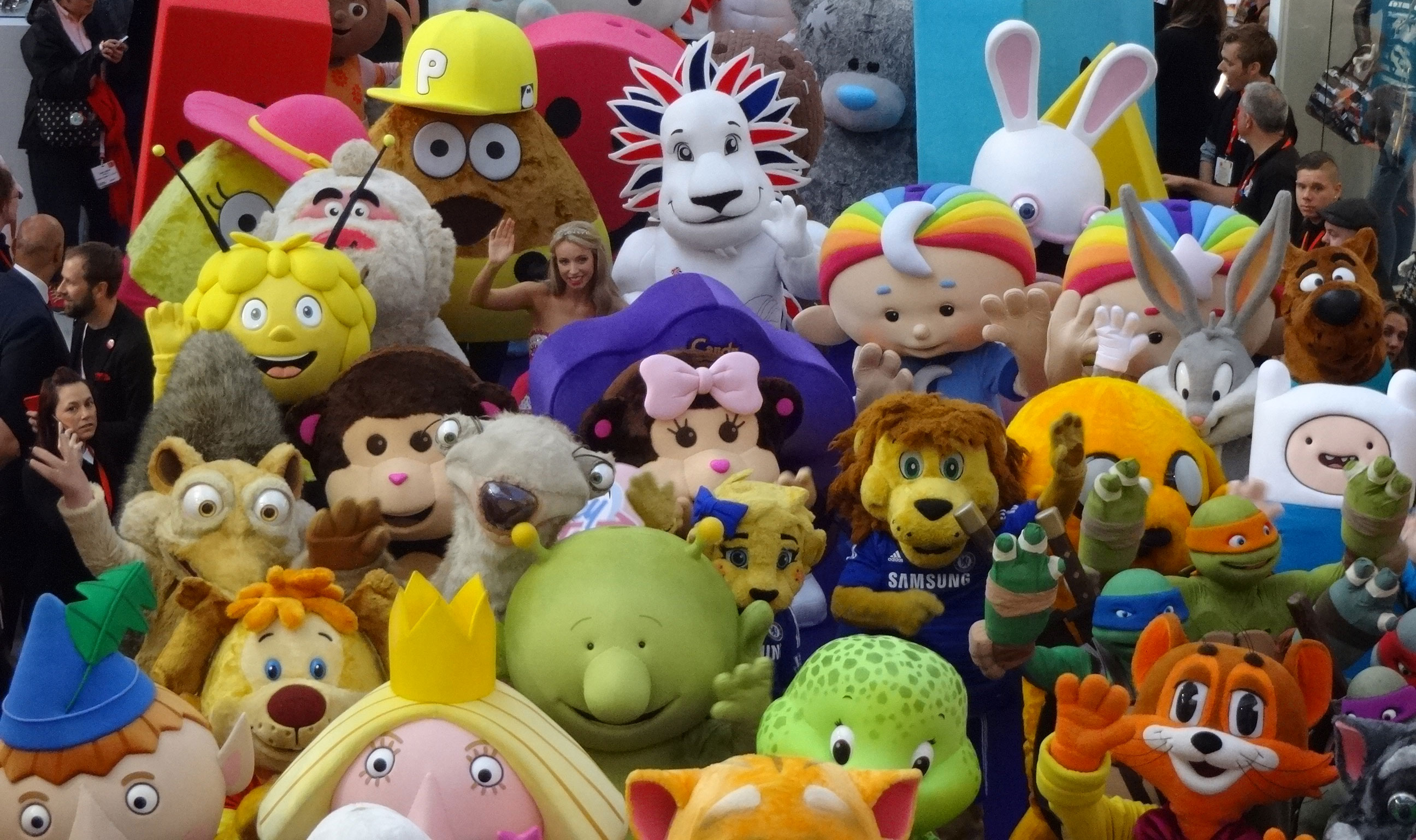 October set for a record-breaking number of licensed characters at BLE!
