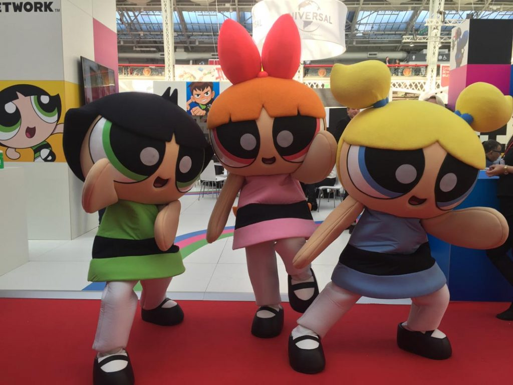 book powerpuff girls for events rainbow productions