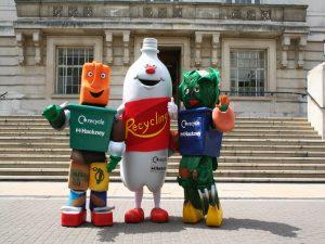 Recycling Mascots