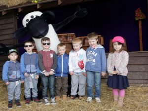 Shaun the Sheep Mascot