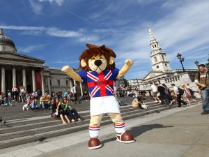 World Cup Willie Mascot