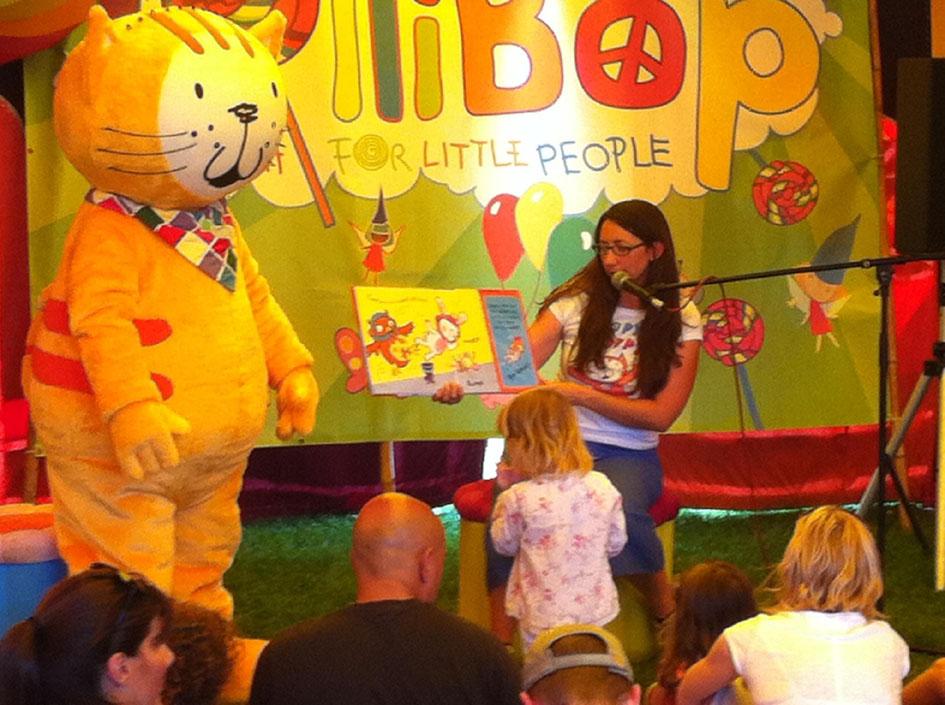 Poppy Cat at LolliBop Children's Festival