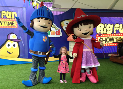 Mike the Knight & Evie