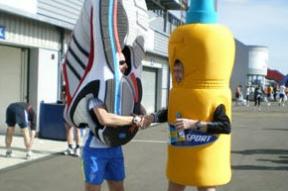 Marathon costumes