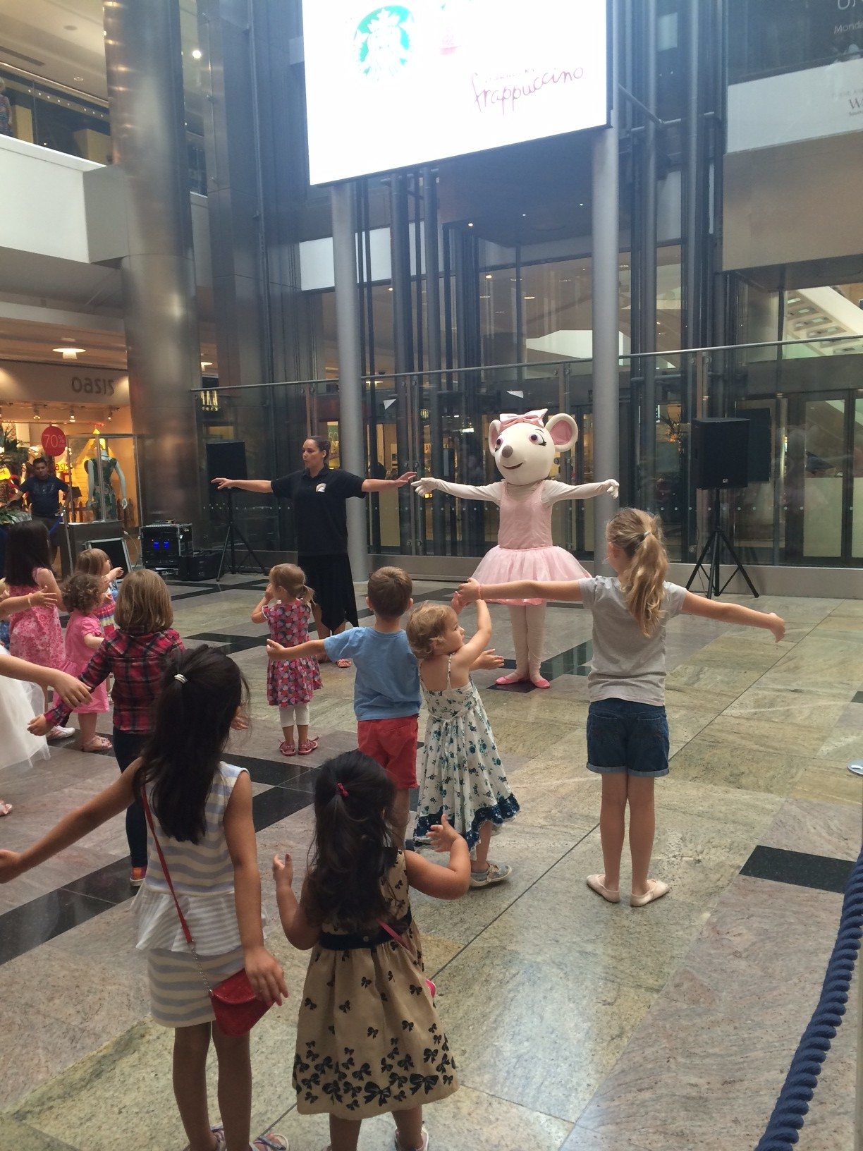 Angelina Ballerina - West Quay Shopping Centre