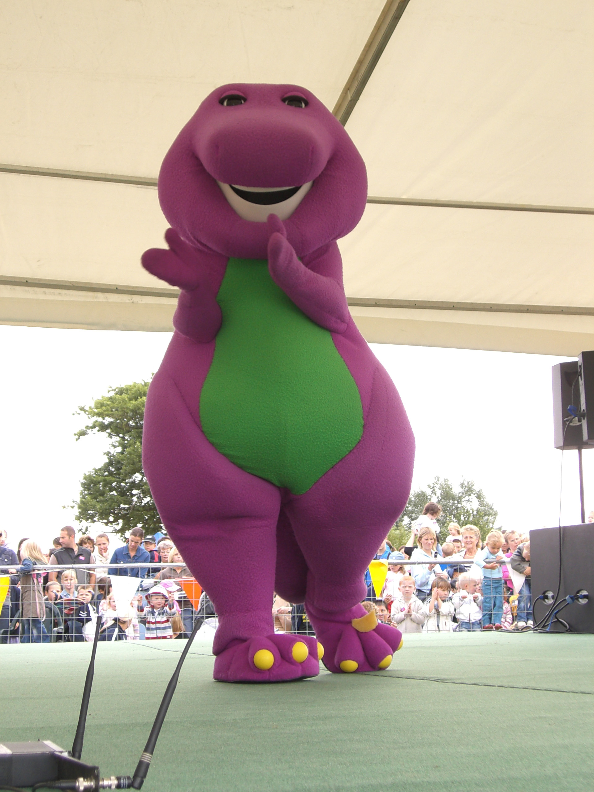 Book Licensed Barney For Events Rainbow Productions