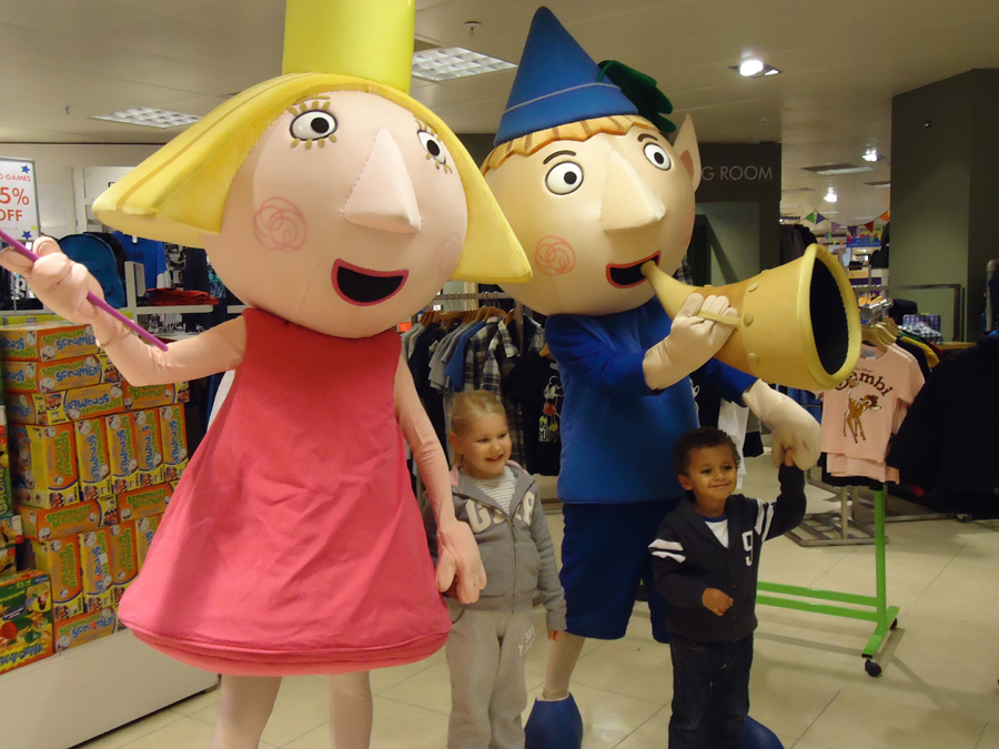 Ben and Holly visit Bentals