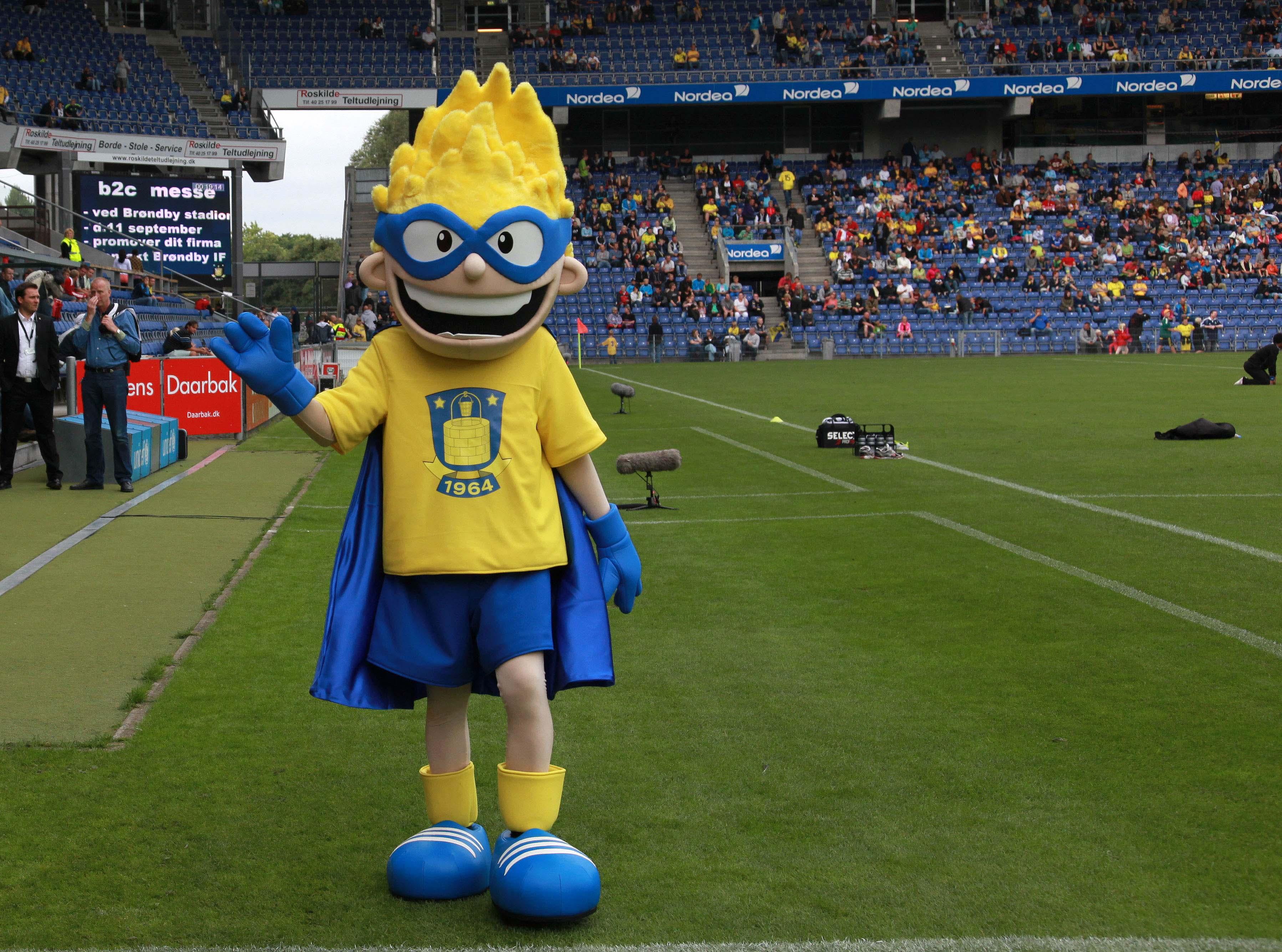 Brondbyernes IF Fodbold AS sports mascot