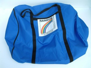 Carry sack mascot storage solution