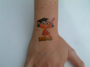 Character tattoos