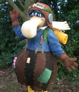Darwin the Dodo - Alton Towers Resort
