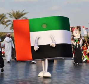 UAE Flag - Dubai National Day Parade