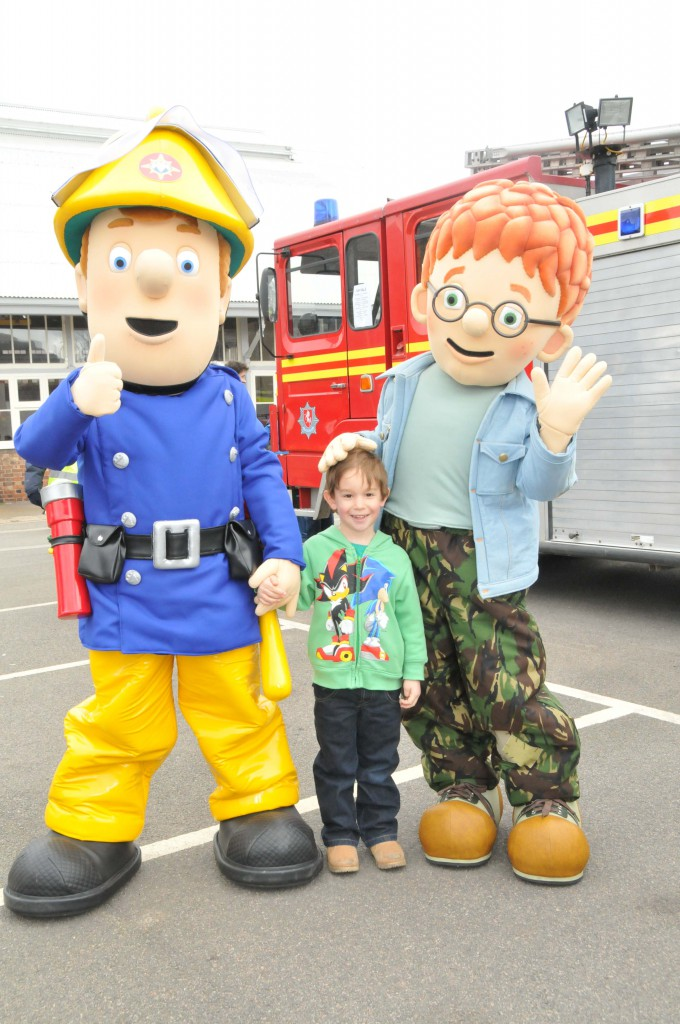 Fireman Sam and Norman Price