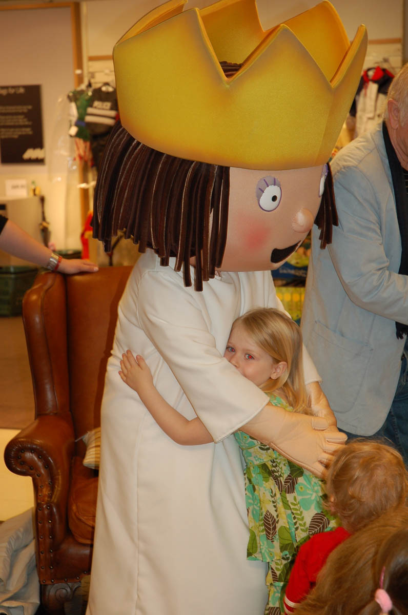 Little Princess visits John Lewis