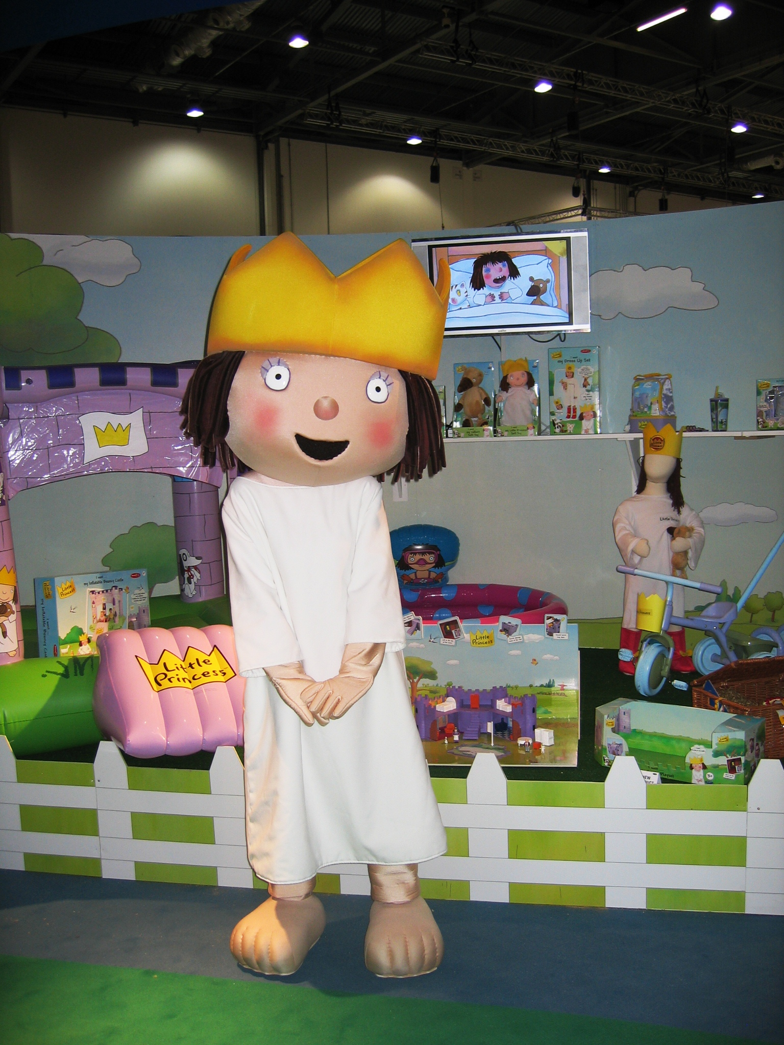 Little Princess mascot costume