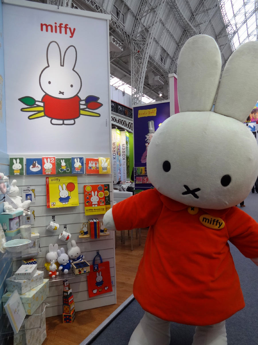 Miffy at BLE14