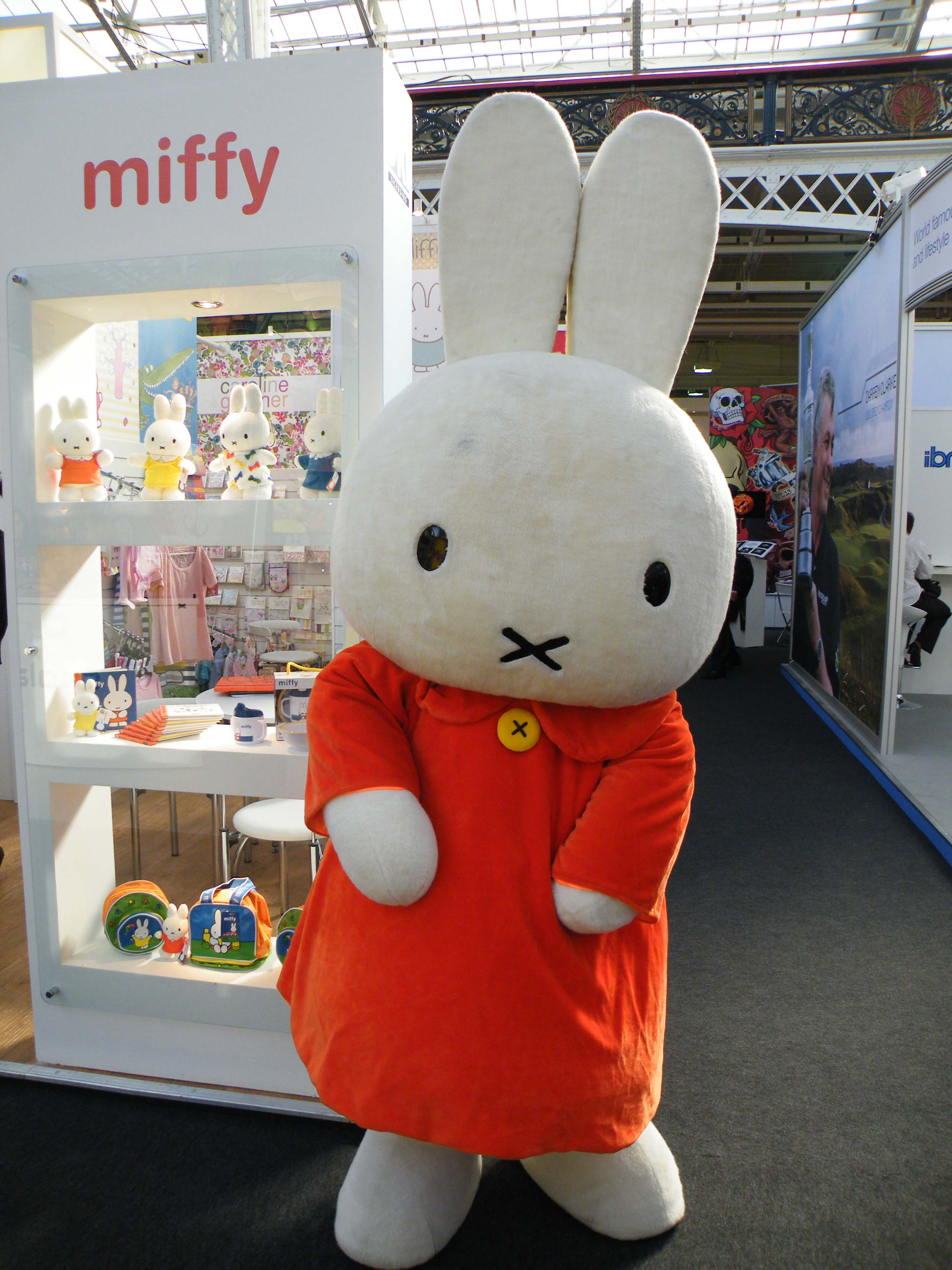 Soft Miffy costume character