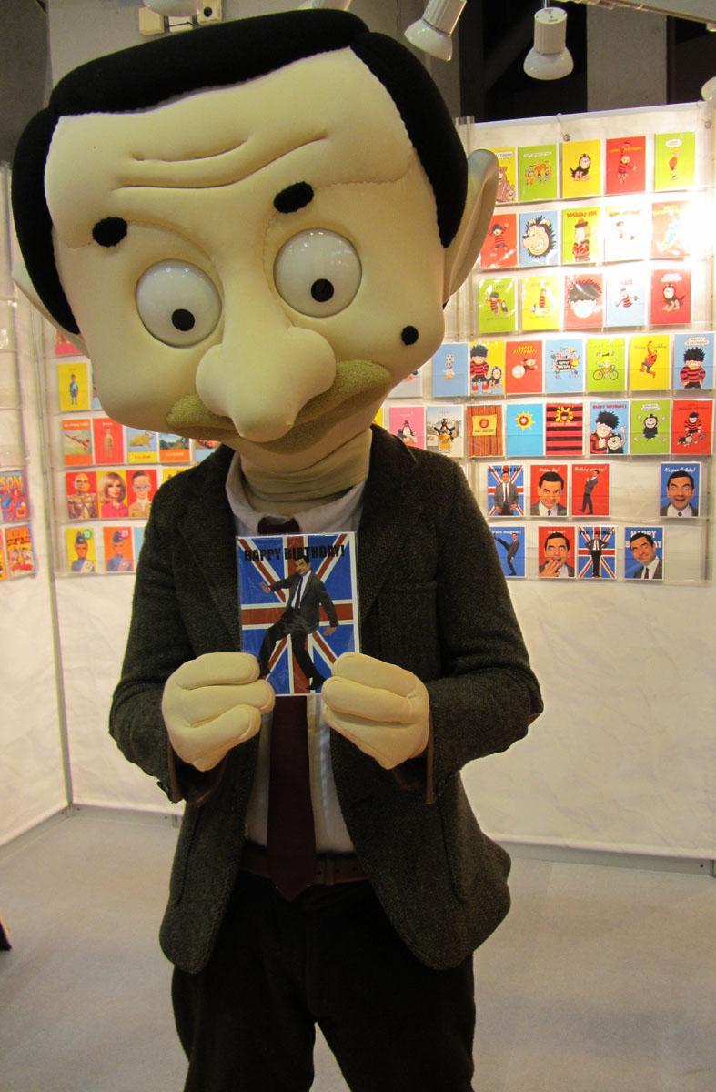 Mr Bean at NEC