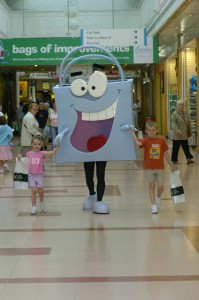 Carrierbag Man - Paisley Shopping Centre