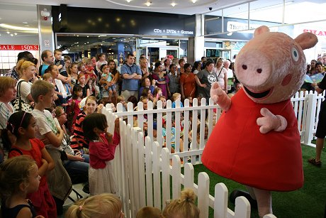 Peppa at The Brunel