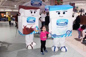 Milk Cartons - Saudia / Lenzo Arabia, KSA