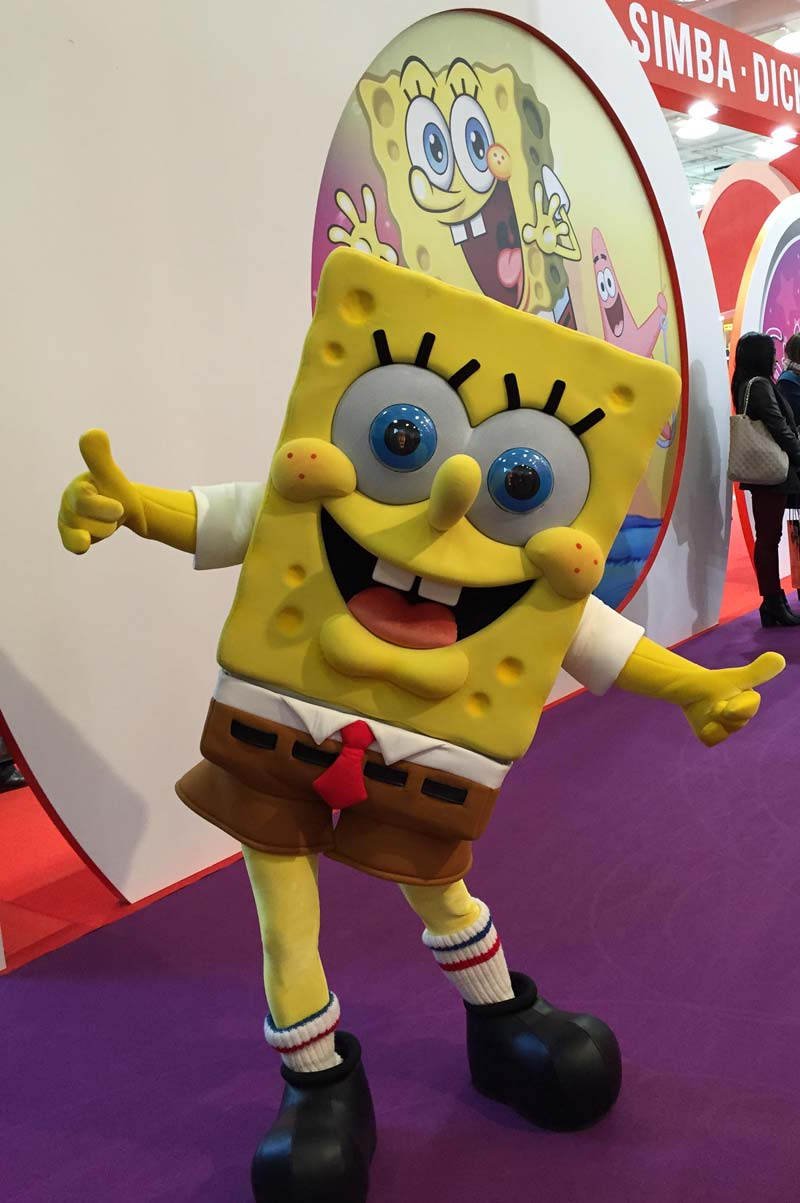 SpongeBob SquarePants at Toy Fair 2015