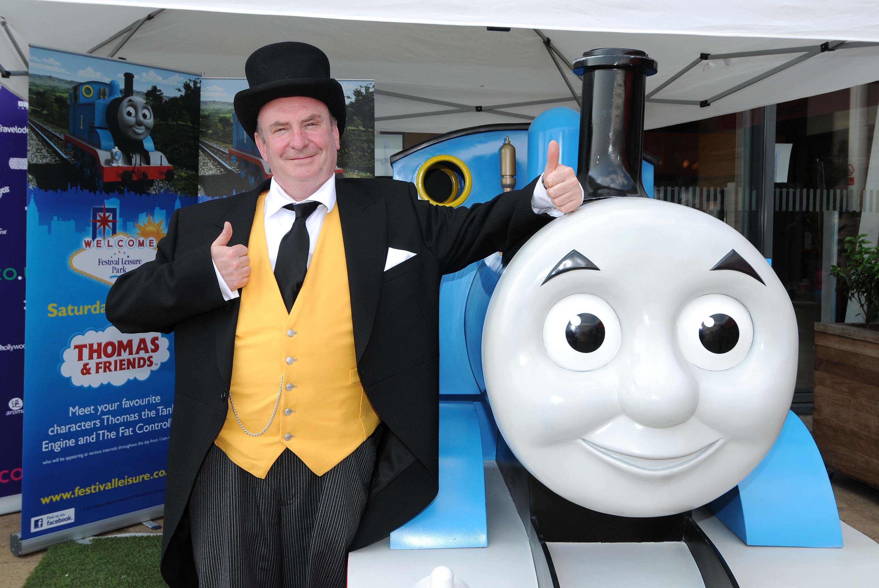 Thomas the Tank Engine mascot