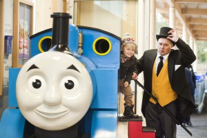 Thomas with The Fat Controller