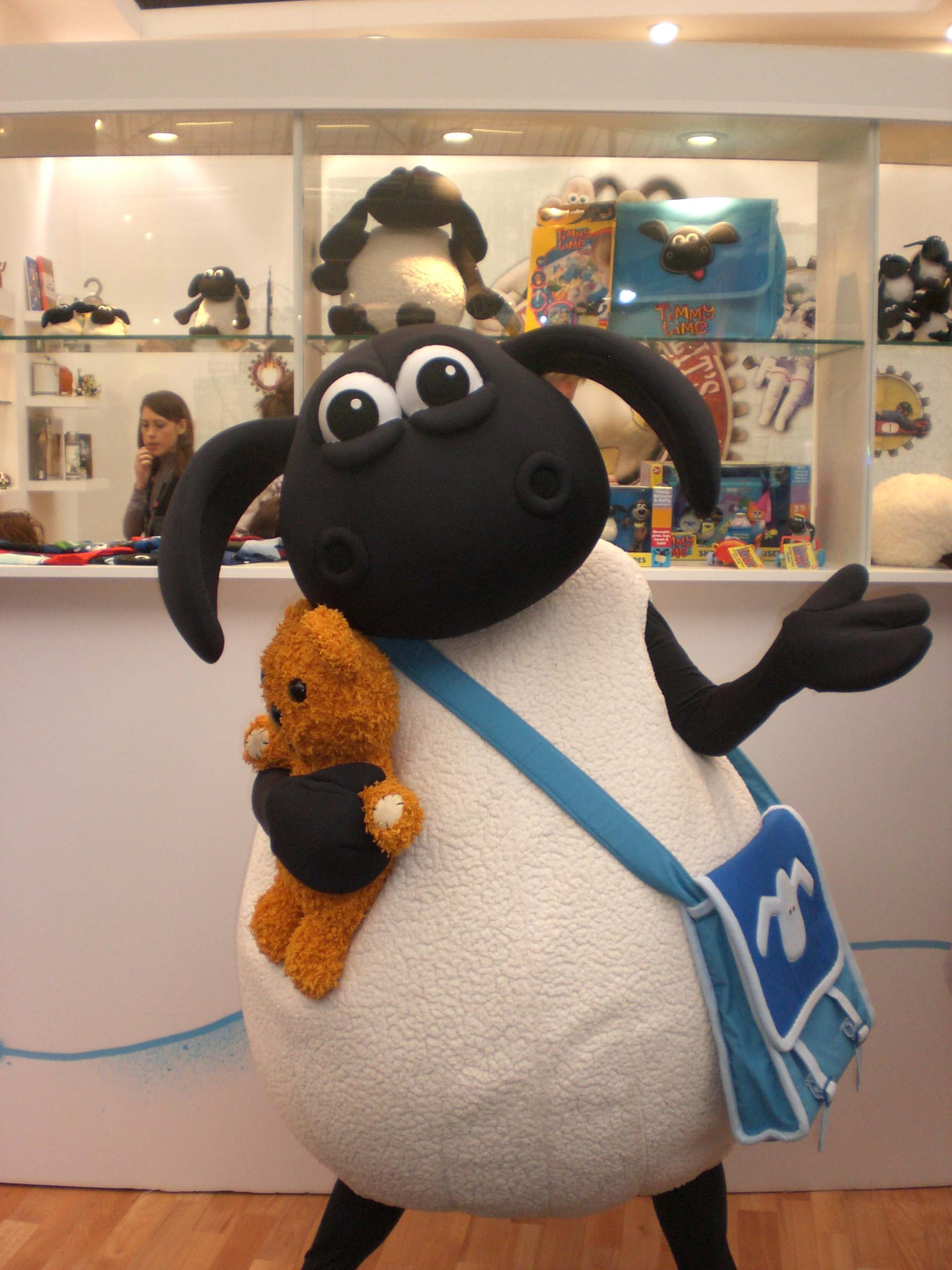 Timmy Time character mascot costume