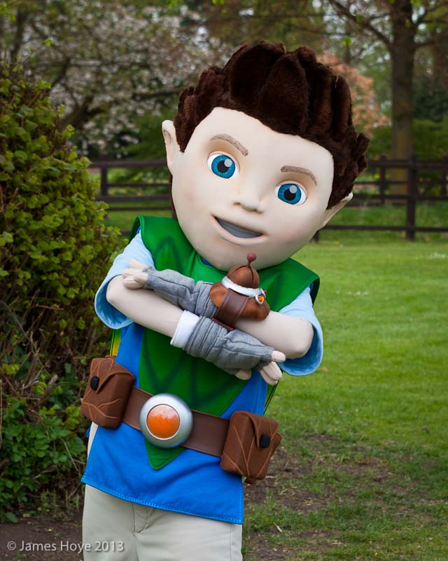 Tree Fu Tom character costume