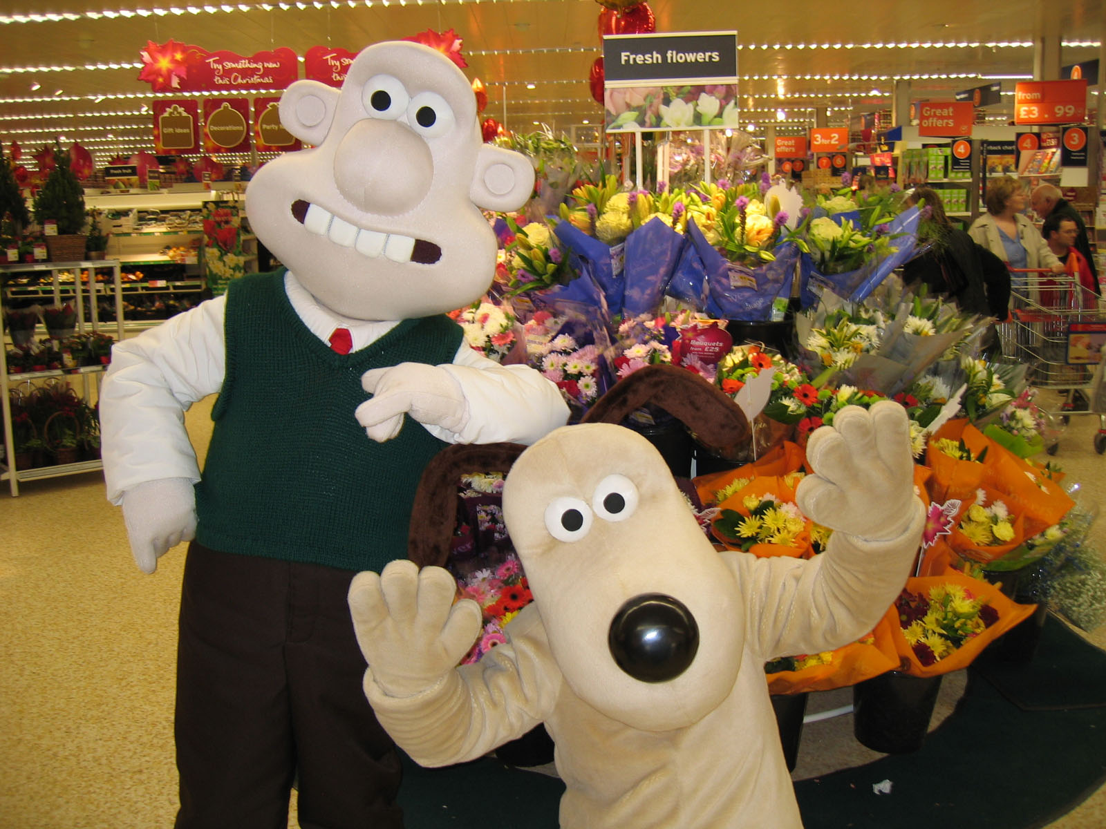 Wallace and Gromit Sainsburys