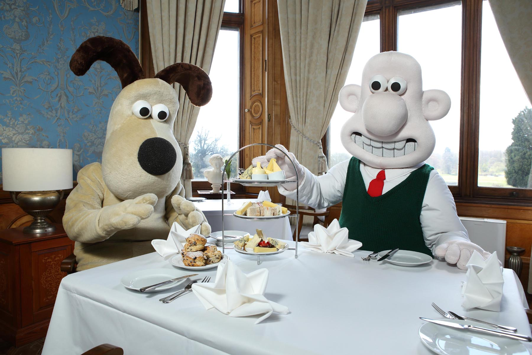 Wallace_Gromit Thoresby Hall