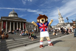 World Cup Willie sports mascot