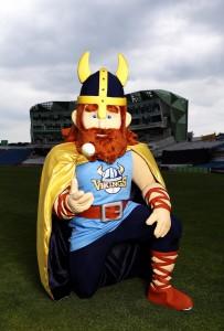 Vinny the Viking Mascot