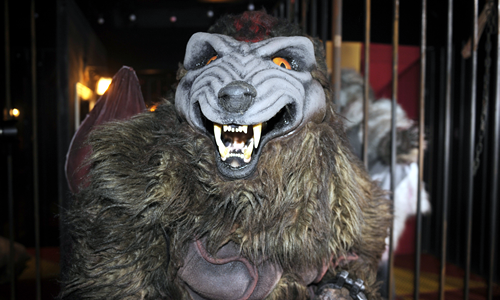 Walibi Belgium Mascot - Werewolf