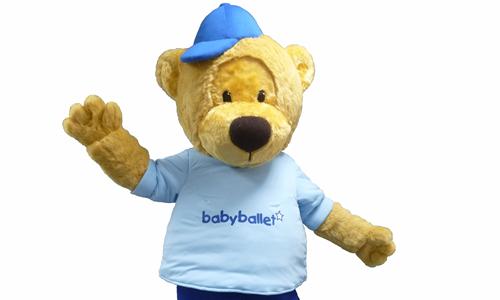 Teddy Bear - Baby Ballet Mascot